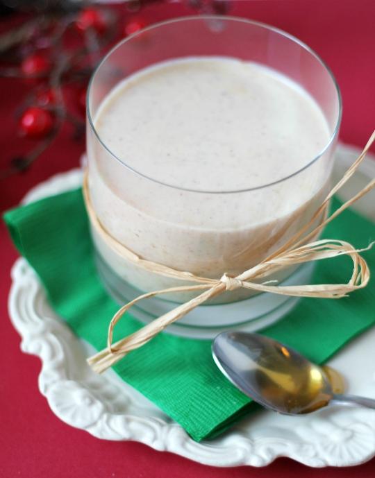 Rompope de Crema de Coco con Miel