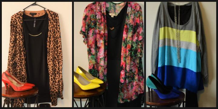 #ModaPlusSize: Estampados, color y un clásico vestidonegro
